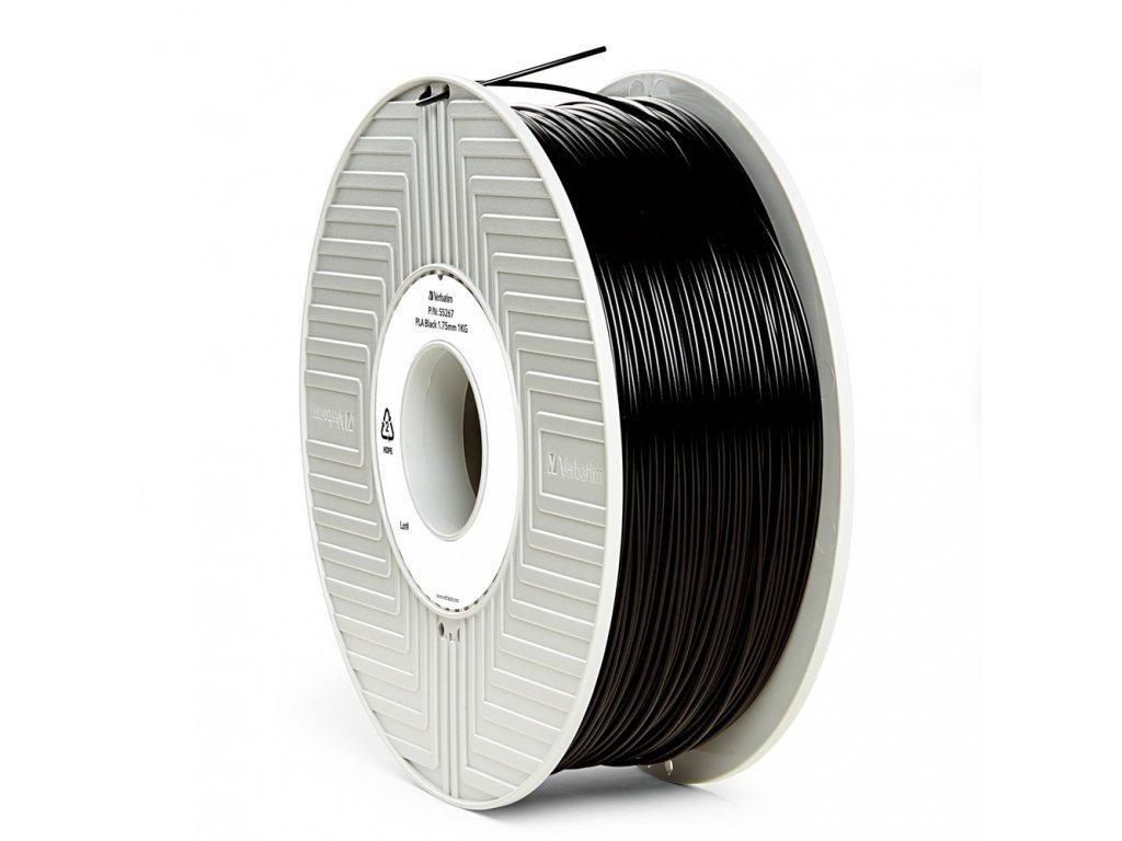 Verbatim tlačová struna PLA, black, 1,75 mm, 1 kg