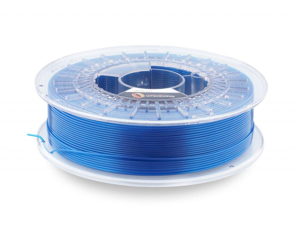 Fillamentum CPEHG100 - kopolyester modrý transparentný, 1,75 mm, 0,75kg struna (+0,25kg cievka), BPA free