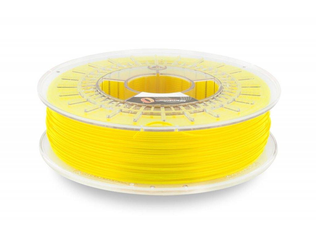 Fillamentum CPEHG100 - kopolyester neonovo žltý transparentný, 1,75 mm, 0,75kg struna (+0,25kg cievka), BPA free