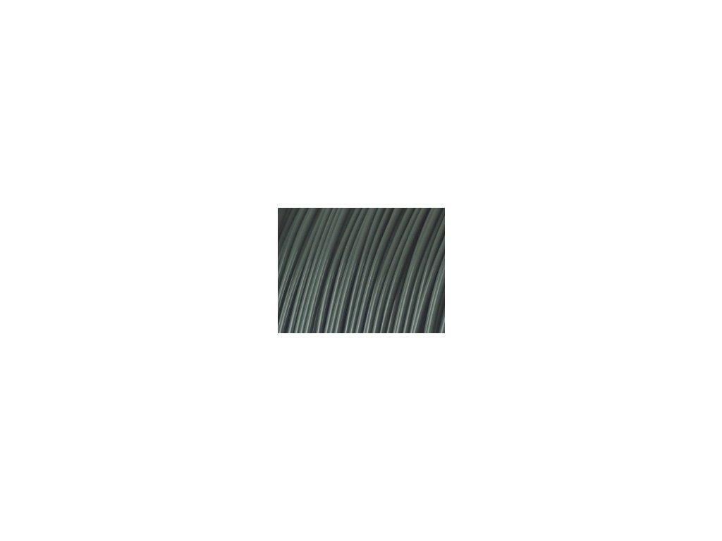 Fiberlogy tlačová struna FIBER FLEX, tvrdosť 30D, dark grey Graphite, 1,75mm, 0,85kg