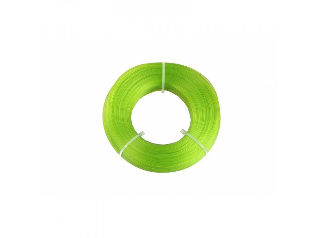 Fiberlogy tlačová struna EASY PLA Refill - náplň bez cievky, light green, 1,75mm, 0,85kg