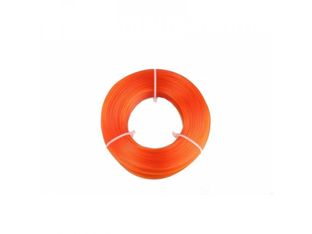 Fiberlogy tlačová struna EASY PLA Refill - náplň bez cievky, orange, 1,75mm, 0,85kg