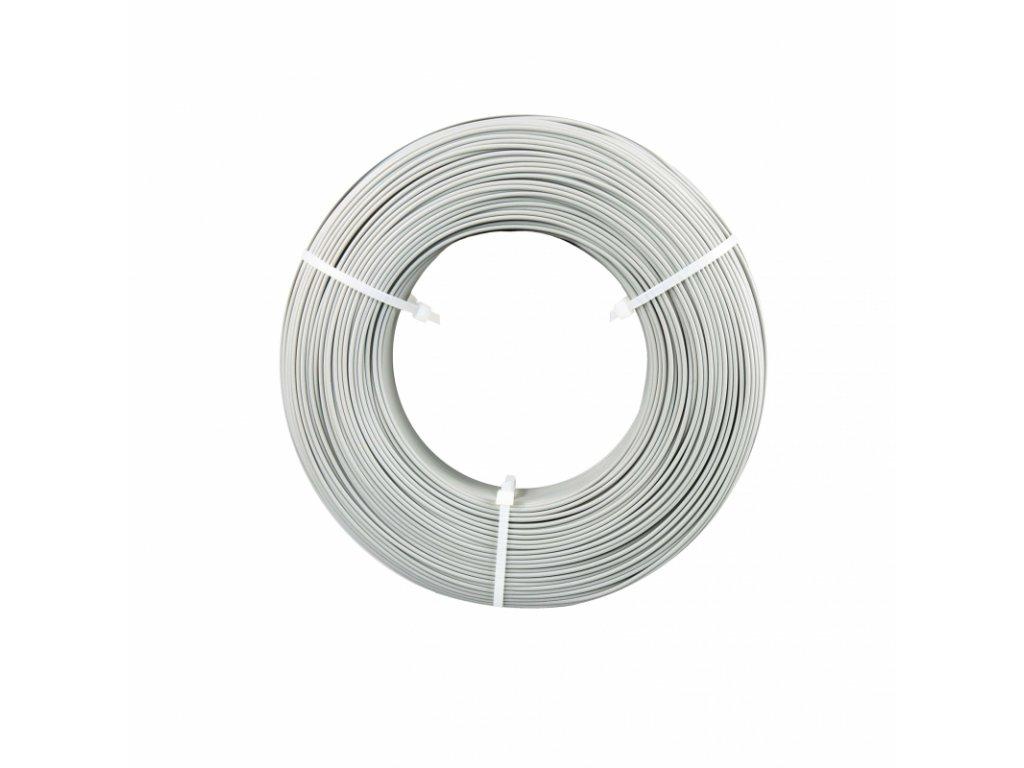 Fiberlogy tlačová struna EASY PLA Refill - náplň bez cievky, farba nerez/inox, 1,75mm, 0,85kg