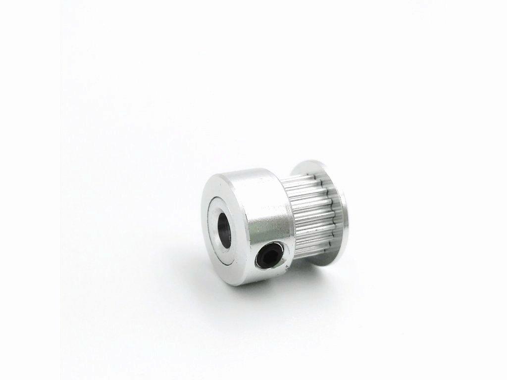 Řemenice GT2 - Vnitřní průměr řemenice : 5 mm, Počet zubů : 20