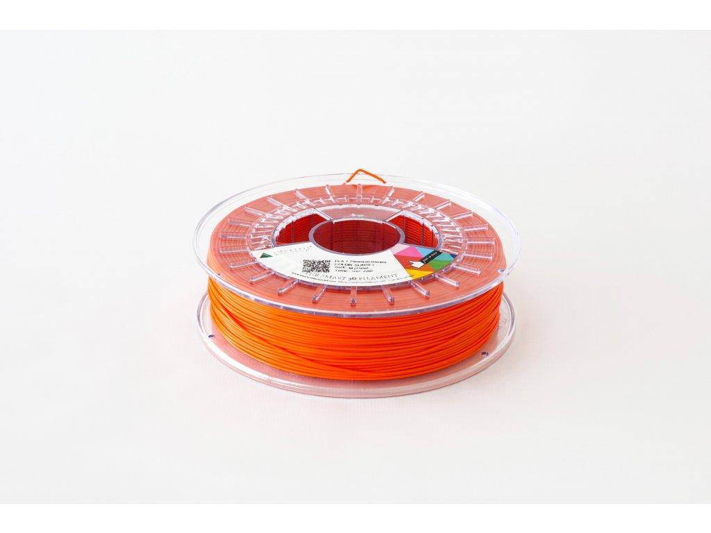 PLA tlačová strunaSunset orange 1,75 mm Smartfil Pantone 1655C