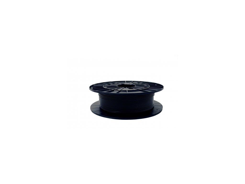 PETG materiál s aditívami pre samozhášavé účinky, FIREPROOF - Self-extingnishing, black