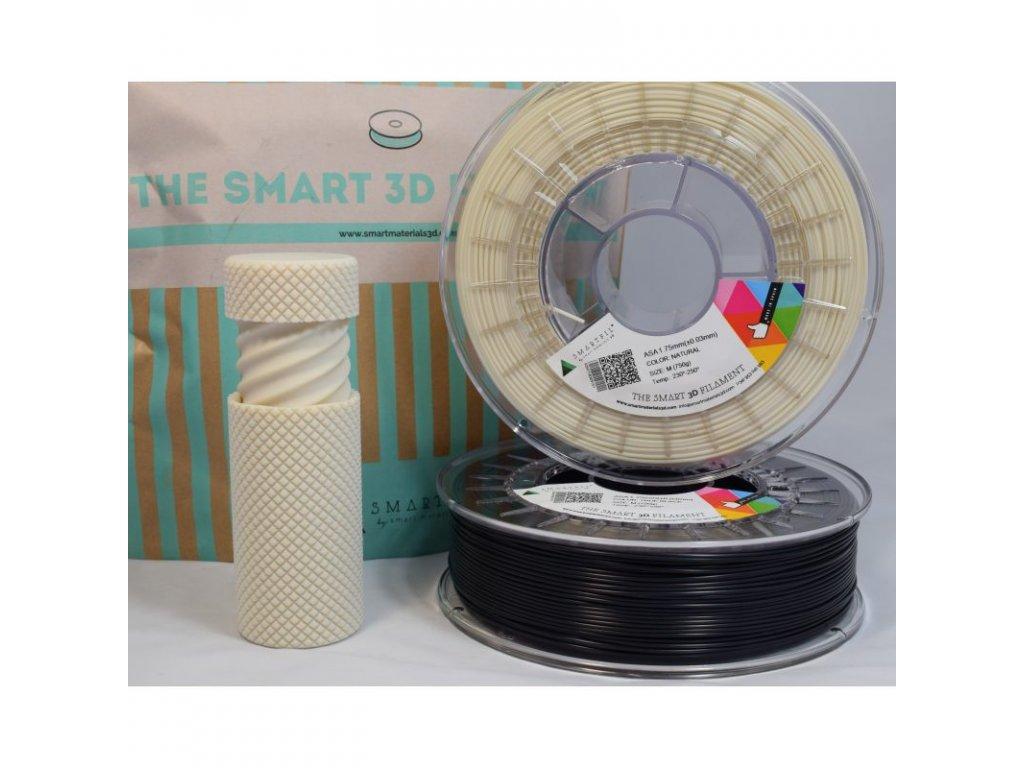 Smartfil ASA tlačová struna odolná voči poveternostným vplyvom a UV žiareniu, 1,75 mm, natural, 0,75 kg
