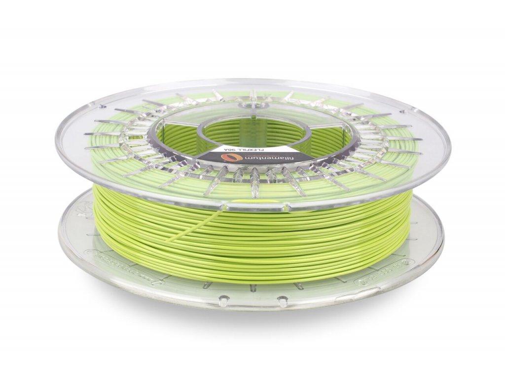 TPU značky Fillamentum 98A, 1,75mm, 0,5 kg, pistáciovo zelená
