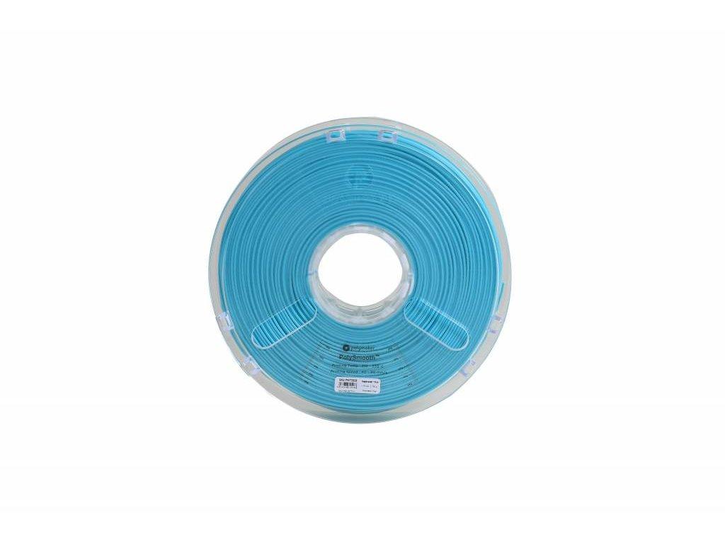 PolySmooth tlačová struna pre vyhladenie povrchu modelu alkoholom Layer free PVB 1,75mm Polymaker Teal Green Blue 0,75 kg