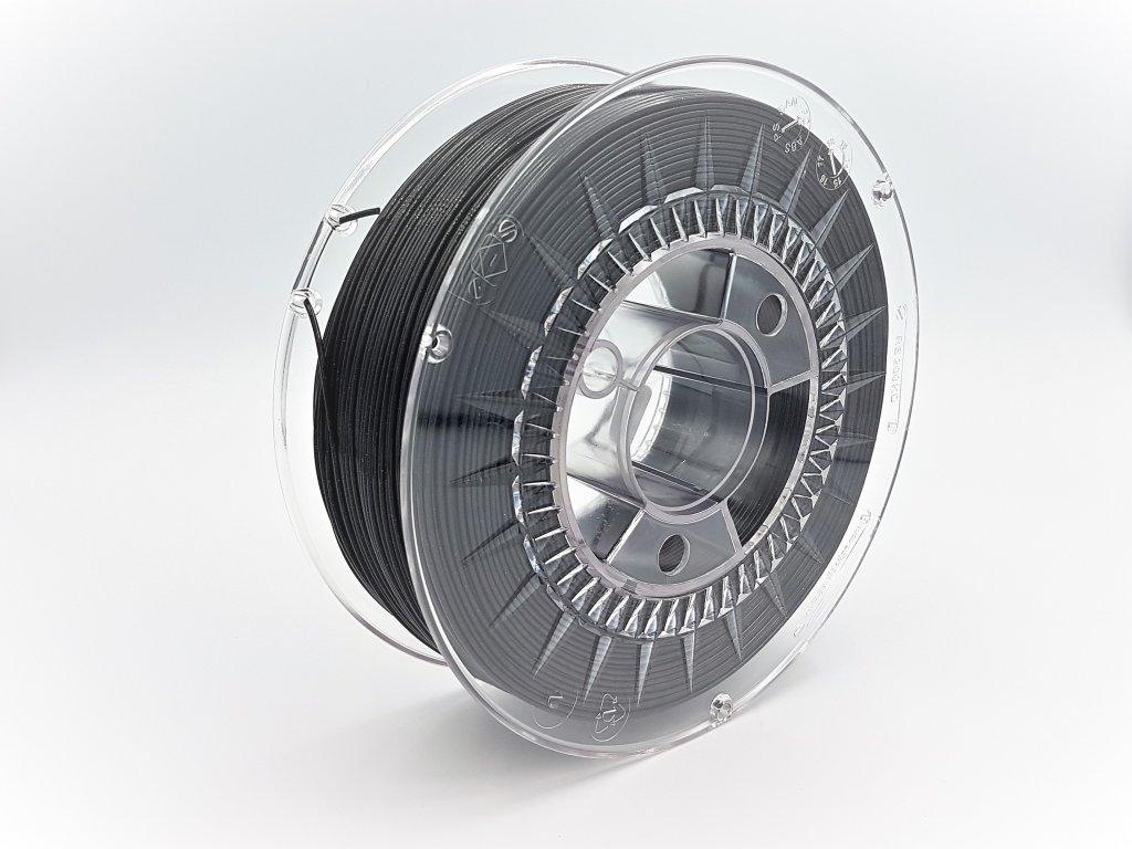 Devil Design tlačová struna PLA, 1,75 mm, 1 kg, Galaxy Black