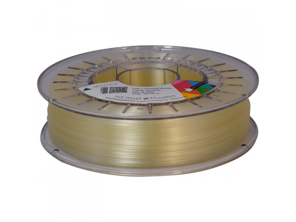 PVA vodou rozpustný podporný materiál 0,75 kg 1,75 mm - farba natural