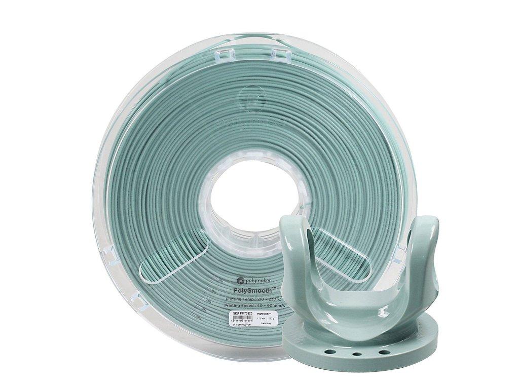 PolySmooth tlačová struna pre vyhladenie povrchu modelu alkoholom Layer free PVB 1,75mm Slate Grey 0,75 kg