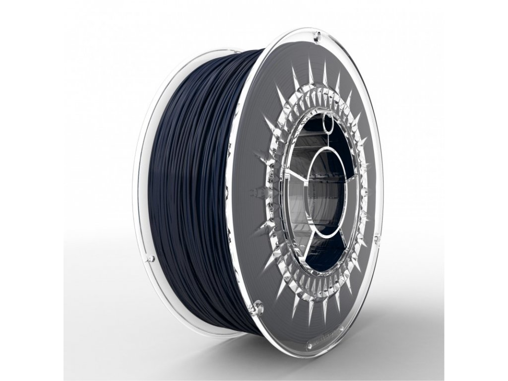 ASA tlačová strunapre vonkajšie použitie, navy blue, 1,75mm, 1kgUV stabilný termoplast