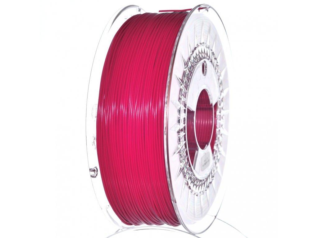 Devil Design tlačová struna, PETG, raspberry red, 1,75 mm, 1 kg