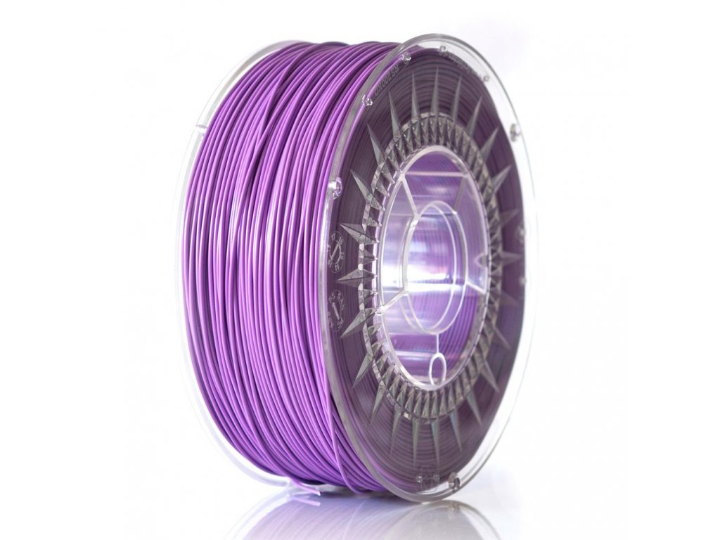 Devil Design tlačová struna, PETG, violet, 1,75 mm, 1 kg