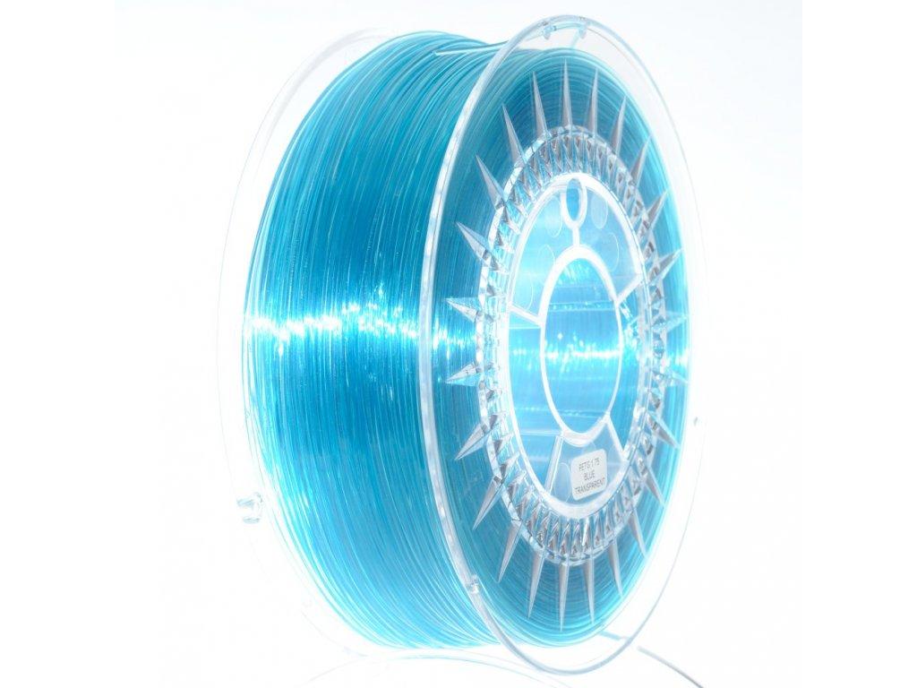 PETG Devil Design, 1,75 mm, bluetransparent, 1 kg