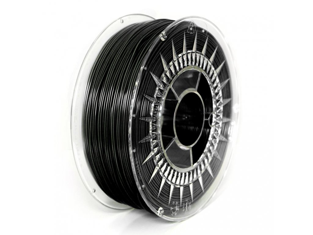Termoplastický polyuretán, Devil Design, tlačová struna black, 1,75 mm, 1 kg