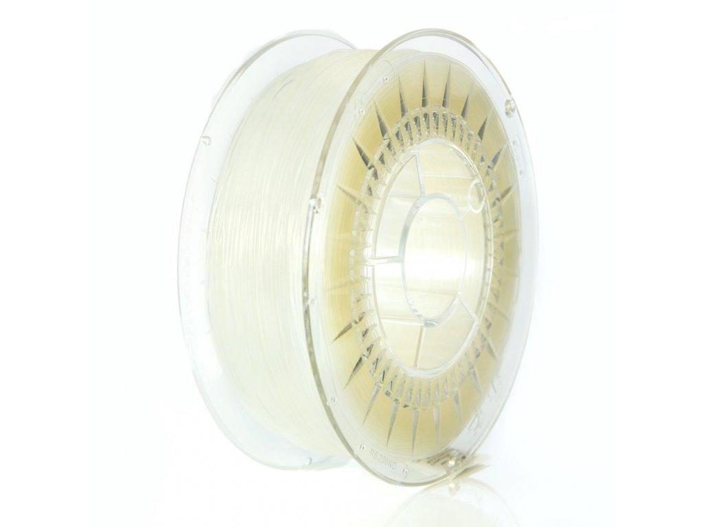 Termoplastický polyuretán, Devil Design, tlačová struna 1,75 mm, farba natural,1 kg