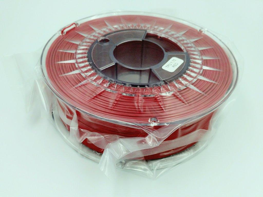 Termoplastický polyuretán, Devil Design, tlačová struna red, 1,75 mm, 1 kg