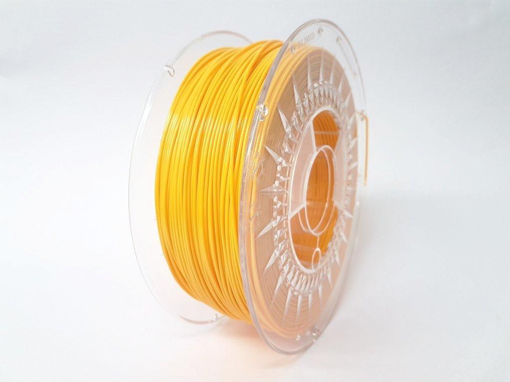 Termoplastický polyuretán, Devil Design, tlačová struna bright yellow, 1,75 mm, 1 kg