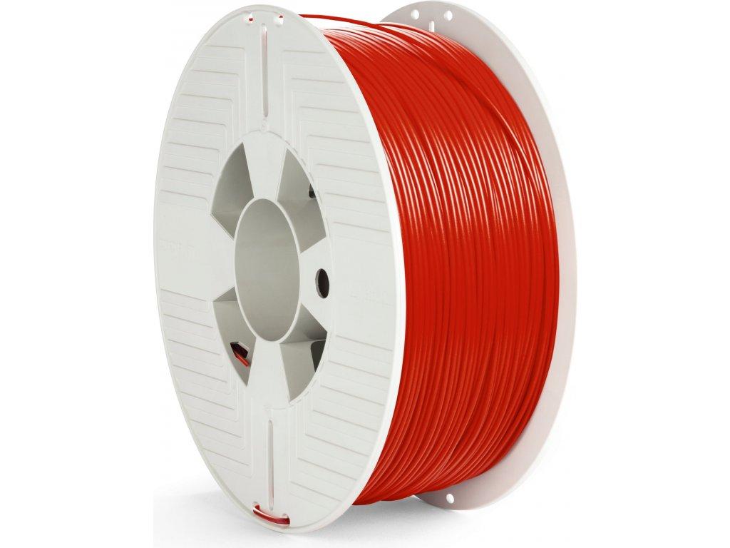 PET-G filament 1,75 mm červený Verbatim 1 kg