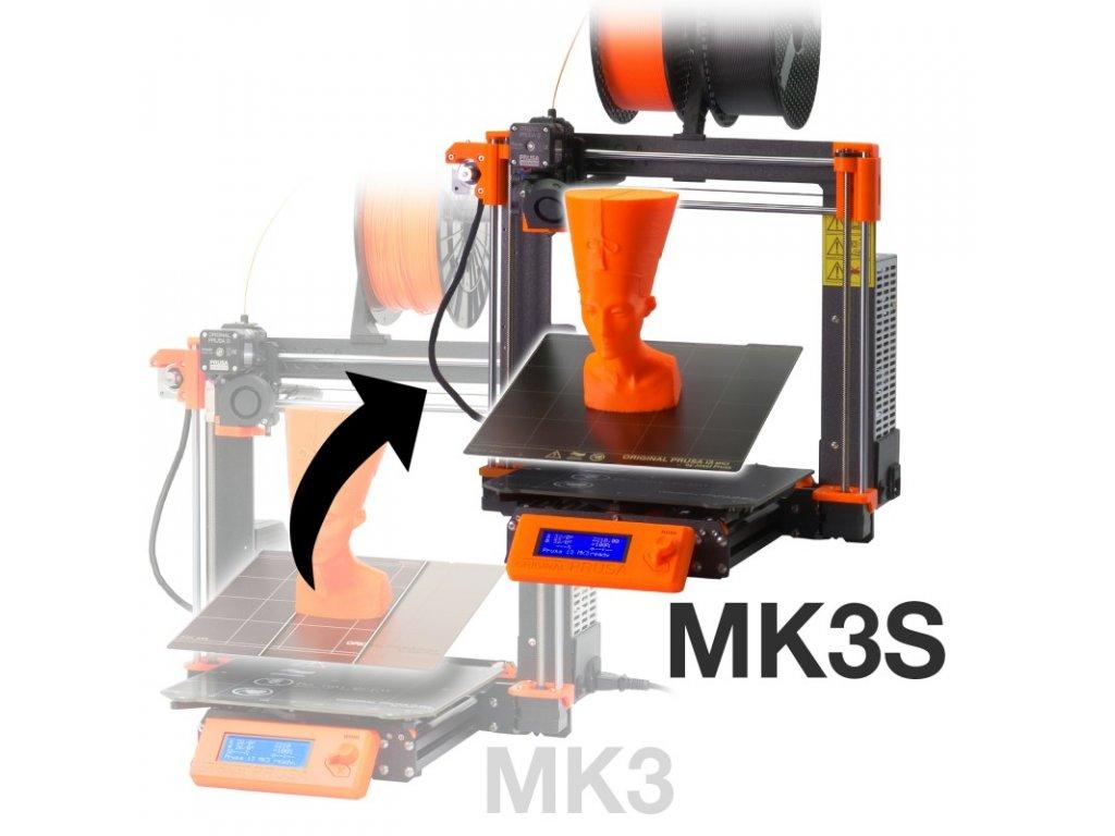 original prusa i3 mk3 to mk3s upgrade kit