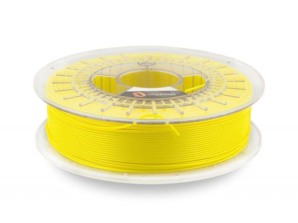 CPE Fillamentum Flash yellow metallic spool žltá tlačová struna s trblietkami