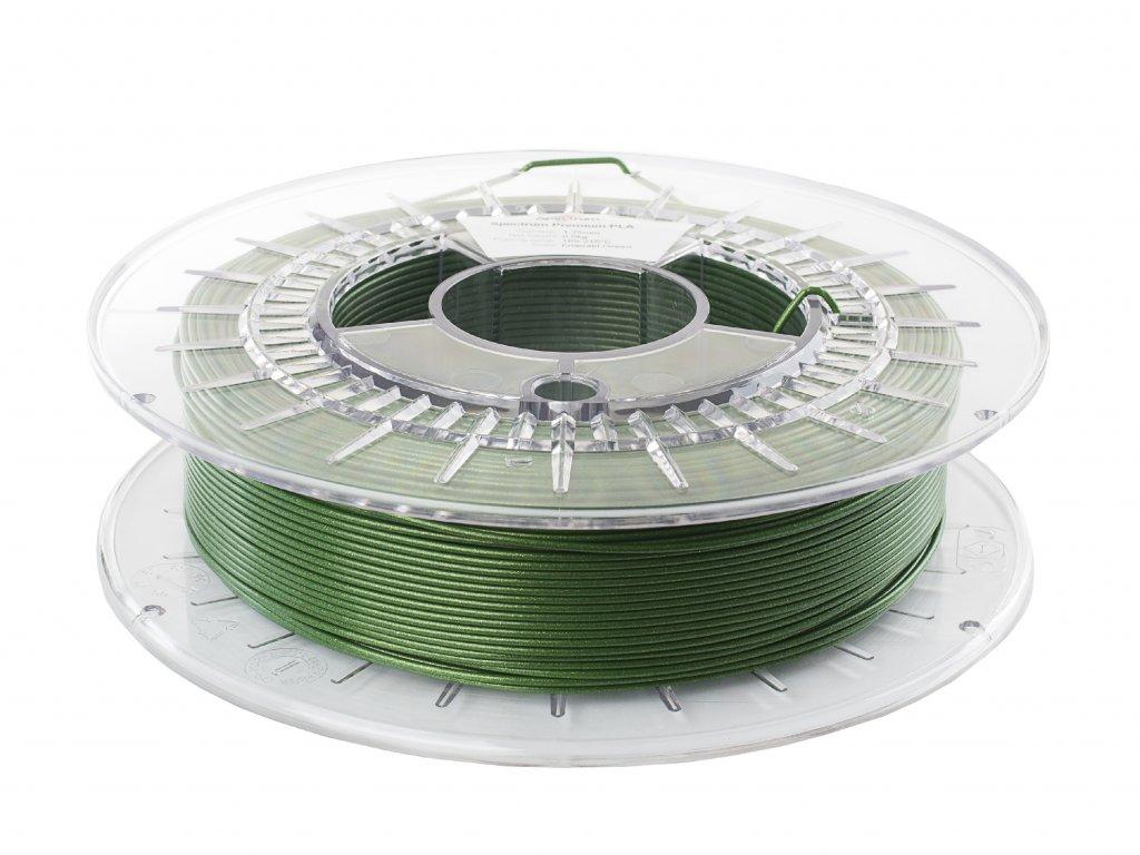 PLA tlačová struna Emerald Green 1,75 mm Spectrum 0,5 kg