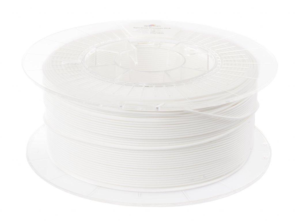 PLA 3D tlačová struna 1,75 Polar White Spectrum
