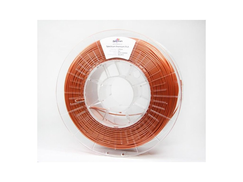 tlačová struna Rust copper spectrum PLA