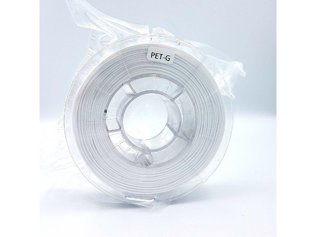 PET-G filament 1,75 mm biely Devil Design 330g