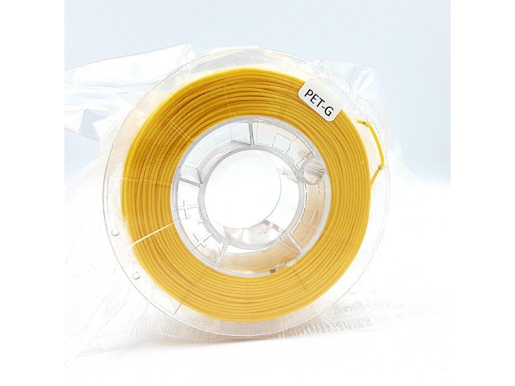 PET-G filament 1,75 mm jasne žltý Devil Design 330g