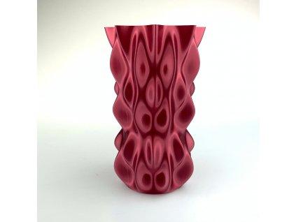 PLA FIBERSILK filament burgundy vínový metalický 1,75mm Fiberlogy 850g