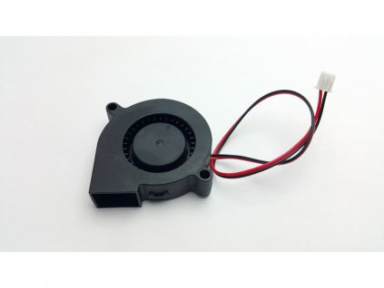 Radiálny ventilátor 12V 50mm x 50mm x 15mm