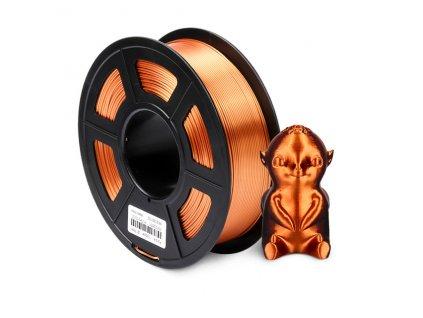 SUNLU SILK PLA Filament 1 75mm 1kg 3d drukarka Filament jedwabna tekstura 3d materia do drukowania.jpg 640x640