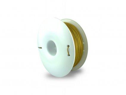 PLA FIBERSILK filament brass mosadzný metalický 1,75mm Fiberlogy 850g