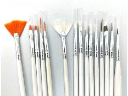 Set 15 maliarskych modelárskych štetcov na detaily a linky