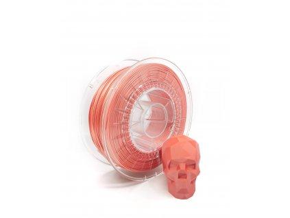 PLA filament z recyklátu 1,75 mm satin broskyňový EKO-MB 1 kg