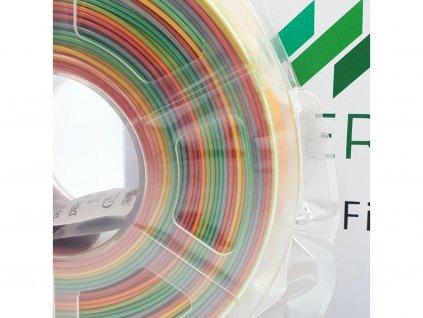 PETG filament multicolor dúhový 1,75mm Fiber3D 1kg