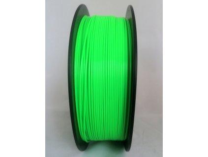 PLA filament GLOW svietiace v tme zelený 1,75mm Fiber3D 1kg
