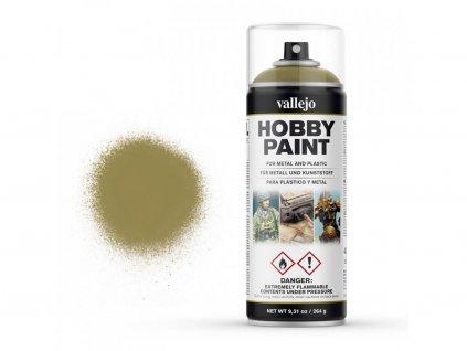 Vallejo Hobby Spray Paint 28001 Panzer Yellow (400ml)