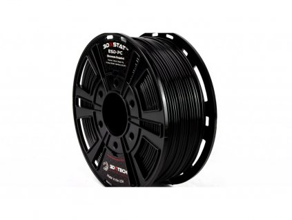 3DXSTAT ESD PC filament antistatický čierny 1,75mm 3DXTECH 750g