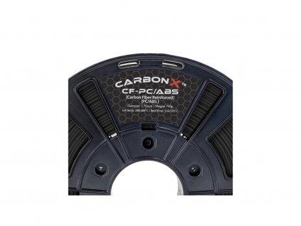 VZORKA 20 METROV - CARBONX PC / ABS CF filament čierny 1,75 mm 3DXTECH