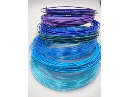 PETG vzorkovník 7 farieb modre Devil Design
