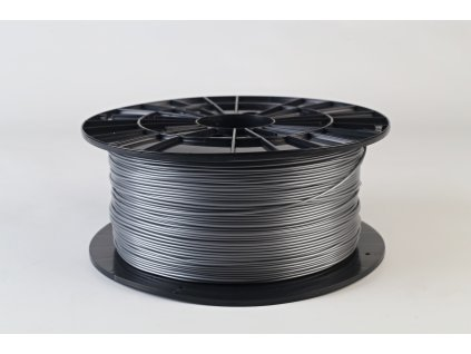 Tlačová struna, Plasty Mladeč, PLA, 1,75mm, silver, 1 kg
