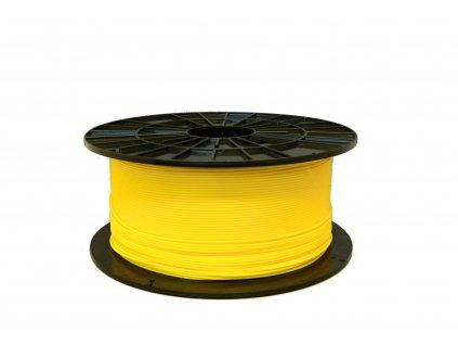 Tlačová struna, Plasty Mladeč, PLA, 1,75mm, yellow, 1 kg