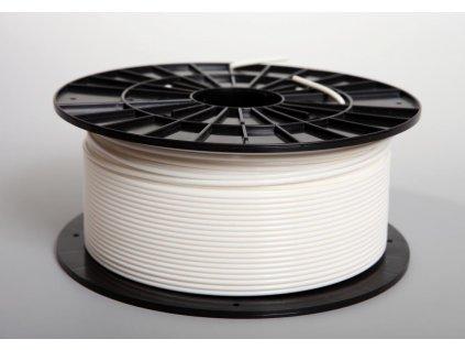 Tlačová struna, Plasty Mladeč, PLA, 2,90mm, white, 1 kg
