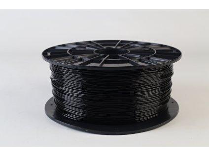 Tlačová struna, Plasty Mladeč, PET-G, 1,75 mm, 1 kg, black