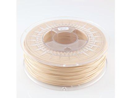 Devil Design tlačová struna PLA, beige, 1,75 mm, 1 kg, RGB 237, 200, 163; Pantone 719C
