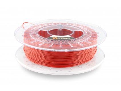 TPU značky Fillamentum 92A, 1,75mm, 0,5 kg, červená RAL 3001